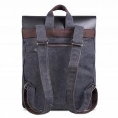 """Крафтовый рюкзак """"Грог 16"""" черный фото-2"""