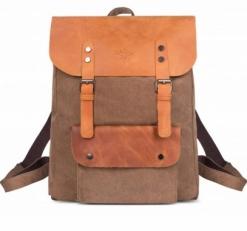 """Текстильный рюкзак """"Грог 16"""" хаки"""