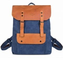 """Текстильный рюкзак """"Грог 16"""" синий"""