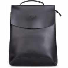 """Кожаный рюкзак """"Мокко-13"""" черный"""