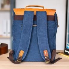 """Текстильный рюкзак """"Винтер Пак"""" синий фото-2"""