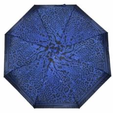 Зонт с синим леопардовым принтом GR1-08
