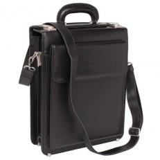 Вертикальный портфель Grantson Black