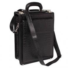 Кожаный мужской портфель Grantson Caiman