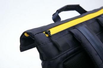 Молодежный рюкзак синий камуфляж Balthazar AUD02 фото-2