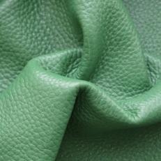 """Натуральная кожа """"Флотер ярко-зеленый"""""""