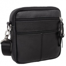 Мини сумка черная из кожи Greyfield