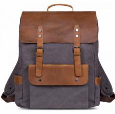 """Текстильный рюкзак """"Грог с карманами"""" 25 серый"""