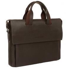 Кожаная сумка папка Gunters Brown