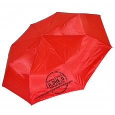 """Зонт женский H.Due.O """"Rain"""" краcный"""