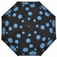 """Зонт женский H.119-1 """"Голубые ромашки"""""""