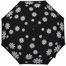 """Зонт женский H.119-2 """"Белые ромашки"""""""