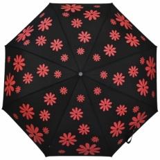 """Зонт женский H.119-4 """"Красные ромашки"""""""