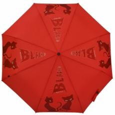 Женский зонт H.156-3 красный