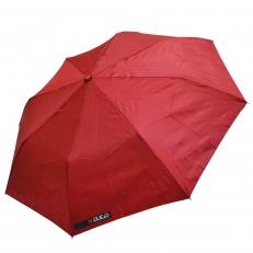 Женский зонтик H.Due.O бордовый