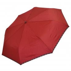 Зонт женский H.DUO 227 бордовый