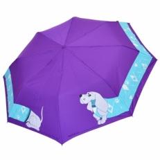 """Женский зонт H.241-4 """"Такса"""" фиолетовый"""