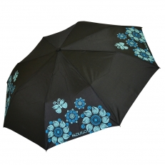 Зонт женский Butterfly голубой
