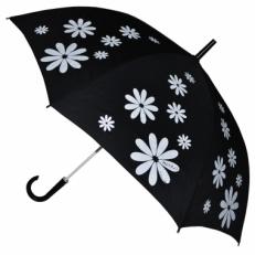 """Зонт-трость H.404-2 """"Белые ромашки"""""""