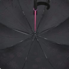 """Зонт-трость H.404-3 """"Розовые ромашки"""" фото-2"""