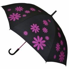 """Зонт-трость H.404-3 """"Розовые ромашки"""""""