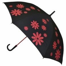 """Зонт-трость H.404-4 """"Красные ромашки"""""""