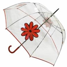 """Зонт-трость H.425-1 """"Красная ромашка"""""""