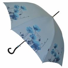 """Зонт-трость H.426-1 """"Голубые маки"""""""