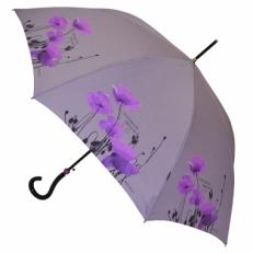 """Зонт-трость H.426-2 """"Розовые маки"""""""