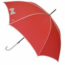Красный зонт-трость H.429-1