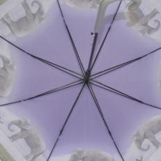 """Зонт-трость H.437-2 """"Слоники"""" фото-2"""