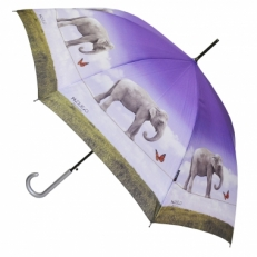 """Зонт-трость H.437-2 """"Слоники"""""""