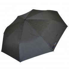 Большой мужской зонт серый