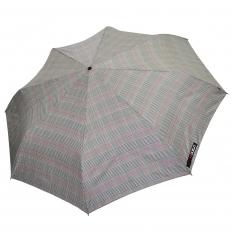 Зонт мужской H.605-2 серый в клетку