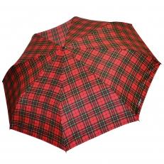Зонт мужской H.605-3 красный в клетку
