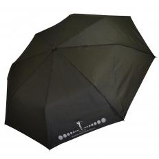 Зонт мужской H.614-3 HOLE IN ONE черный