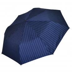 Зонт мужской синий в полоску