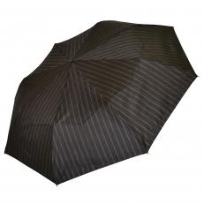 Зонт мужской серый в полоску