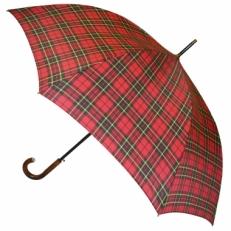 Зонт трость клетка H.901-1