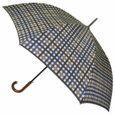 Зонт трость клетка H.901-2