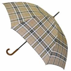 Зонт трость клетка H.901-3