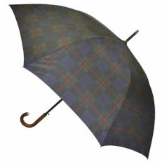 Зонт трость клетка H.901-4