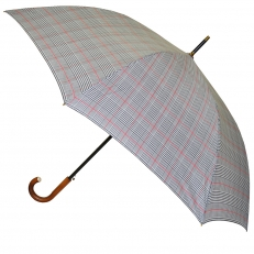 Зонт трость клетка H.901-6