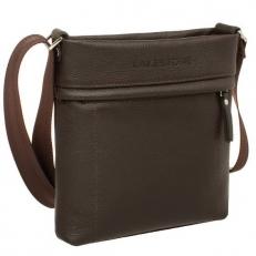 Маленькая сумка для документов коричневая Homefield