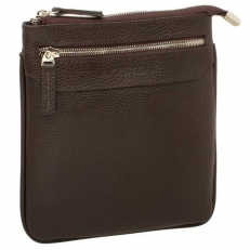 Мини сумка Hutton коричневая