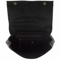 Кожаный рюкзак 9674 N.Vegetta Black фото-2