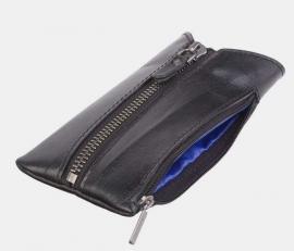 Ключница с карманом K-120 черная