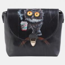 """Дамская сумочка с рисунком """"Утренняя сова"""""""