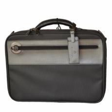 Черный текстильный портфель 12241-01