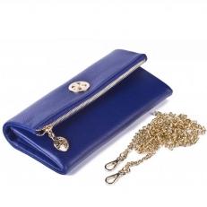 Кожаный клатч 9592 N.Polo Ultra Blue